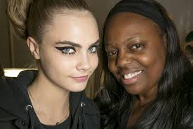 Pat McGrath with Cara Delevigne